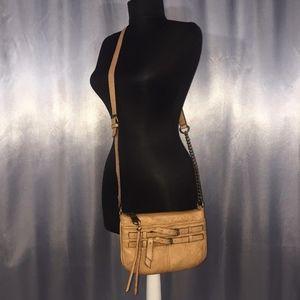 Andrew Marc womens crossbody buckle bag